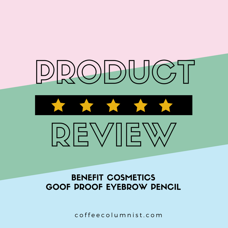 Benefit Cosmetics Goof Proof Eyebrow Pencil Review