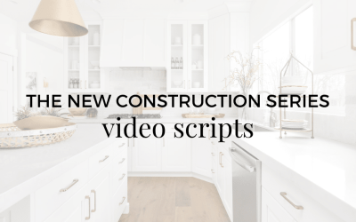 Video Script: New Construction