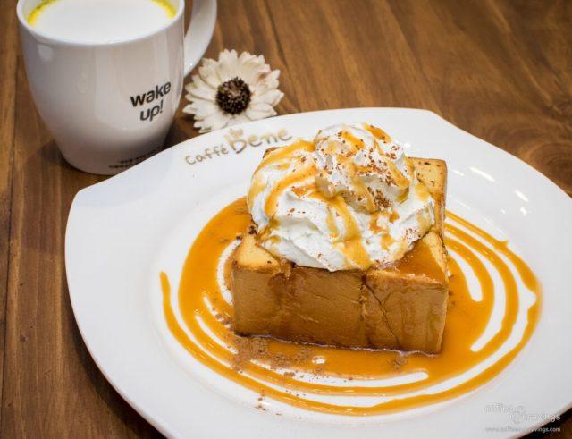 Caffébene Singapore: Caramel Cinnamon Bread
