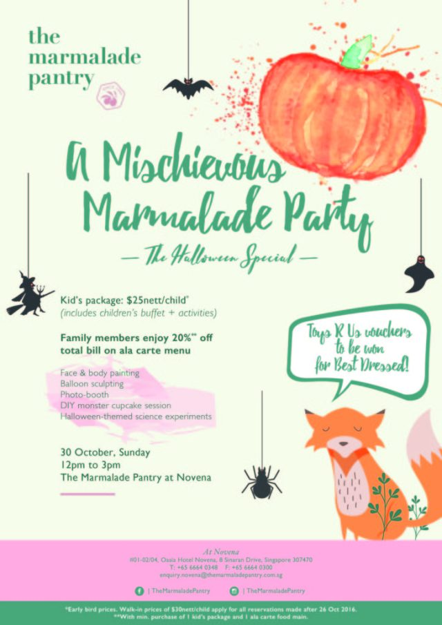The Marmalade Pantry Children's Halloween Party