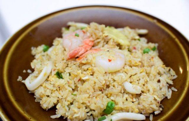 Escape Restaurant & Lounge - Durian Fried Rice