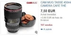 acheter mug et tasse a café originale theme photo, photgraphe