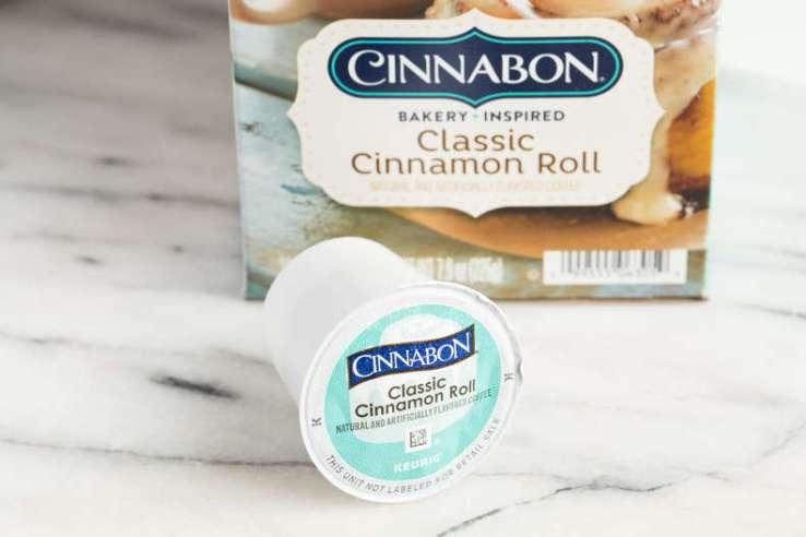 Cinnabon Classic Cinnamon Roll best K Cup Coffee