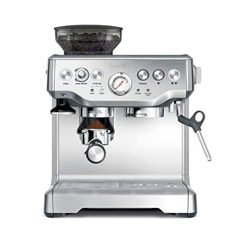 breville barista express is one of best latte coffee maker