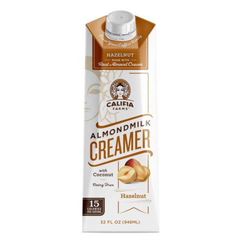 almondmilk vegan coffee creamer by califia farm