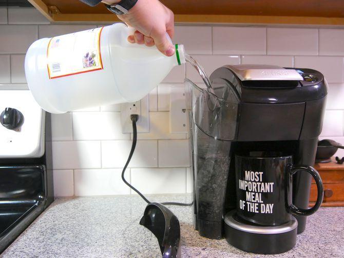 how to clean keurig 2.0 with vinegar
