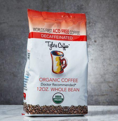 Tylers acid free whole bean coffee