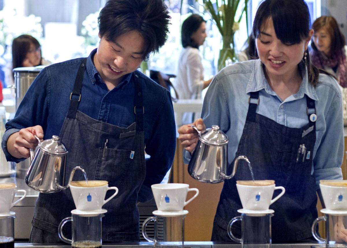 Blue Bottle Coffee Shinjuku, Tokyo