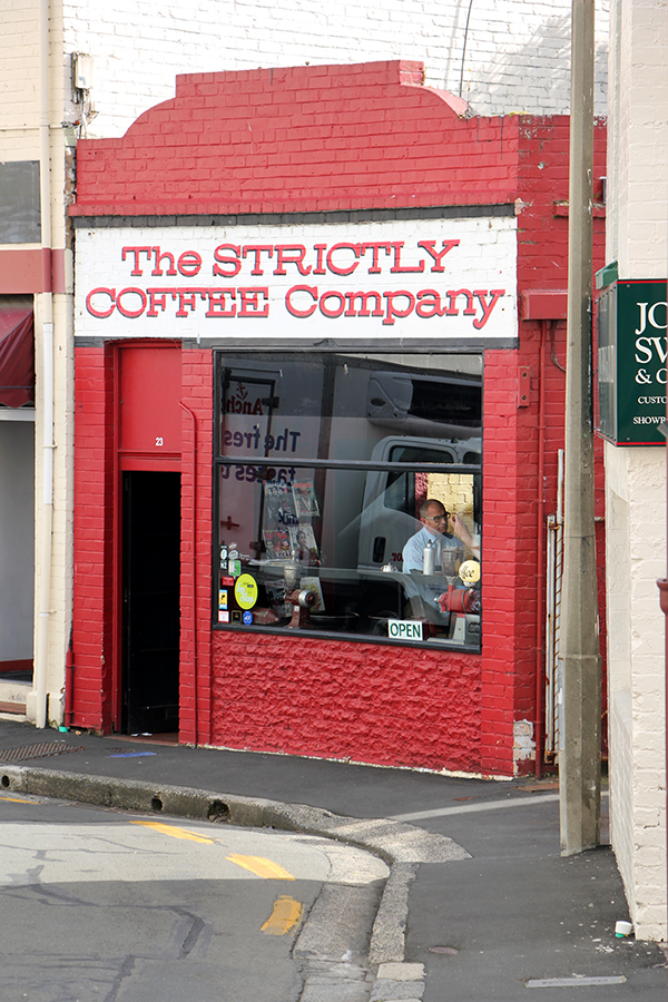 The Strictly Coffee Company, Dunedin