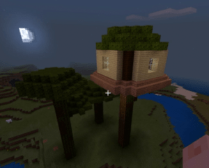 minecraft education challenge build a treehouse in 30 minutes