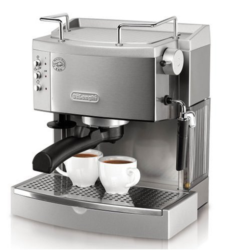 DeLonghi EC702 Stainless Steel Espresso Machine