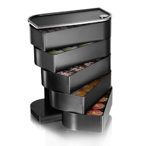 Mind Reader Eclipse 5-Drawer Pod Holder