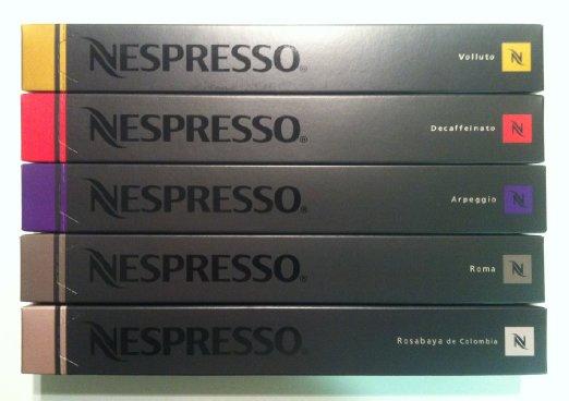 Nespresso Latte Pack Capsules