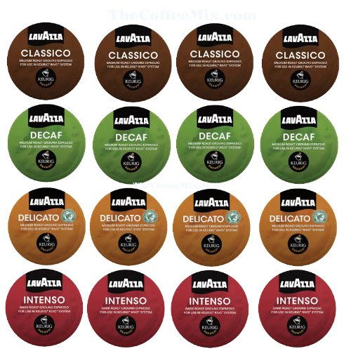 16 count Lavazza Espresso Sampler for Keurig Rivo