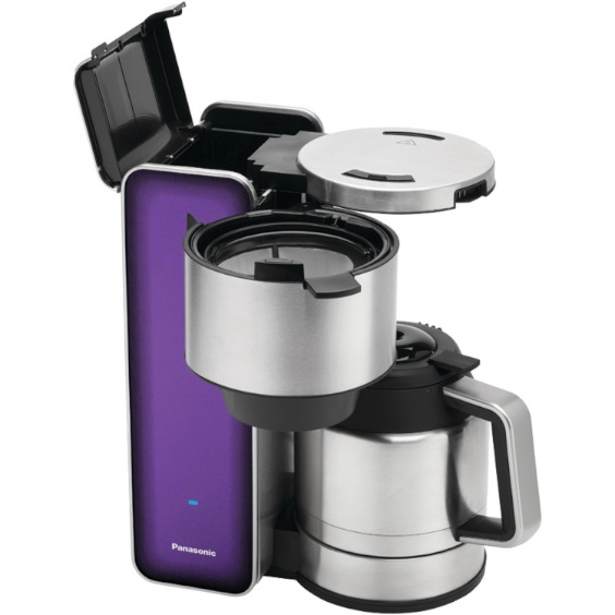 "Panasonic ""Breakfast Collection"" NC-ZF1H 8-Cup Stainless Steel Coffee Maker"