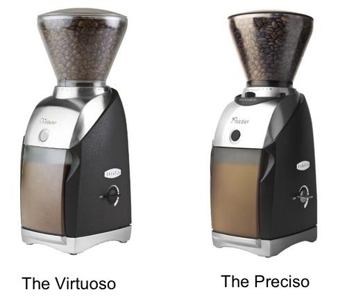 Baratza Virtuoso vs Preciso