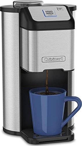 Review Of Cuisinart Single Cup Grind Brew Coffeemaker Coffee