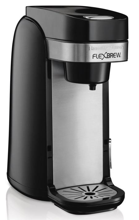 general features of the hamilton beach flexbrew coffee maker