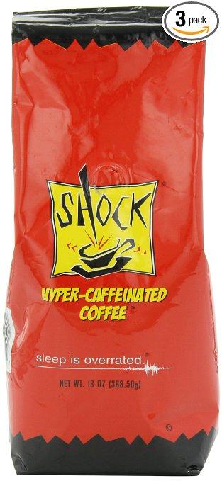 Shock Hyper-Caffeinated Ground Coffee