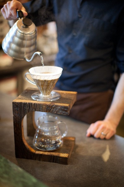 Pour Over Coffee Stand