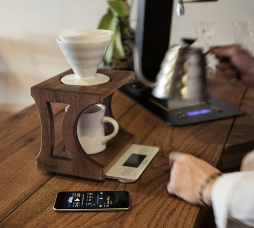 The 501 Pour-Over and Aeropress Coffee Brewing Stand