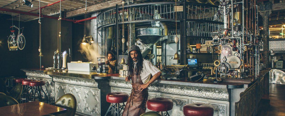 Lifestyle : TRUTH un coffee shop steampunk