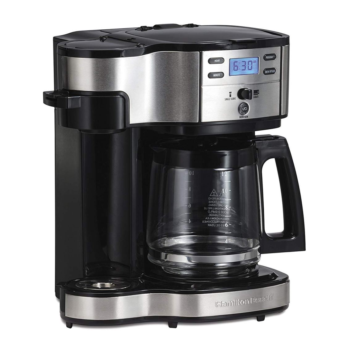 Single-Serve-Drip-Coffee-Maker-Black