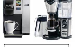 keurig and ninja coffee maker