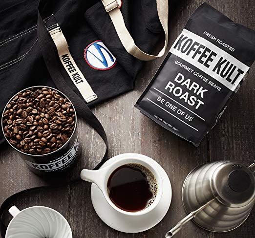 Koffee Kult Dark Roast Best Coffee Beans info