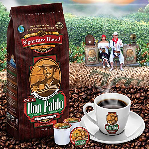 2LB Cafe Don Pablo Signature Blend Espresso Coffee