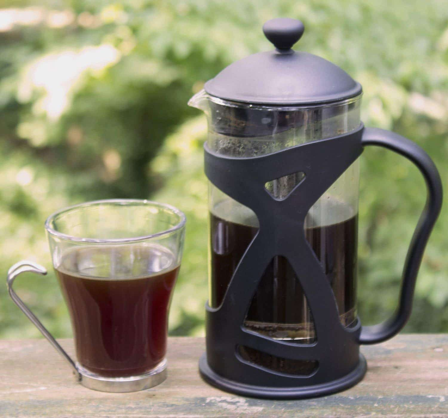 Kona Fresh Press Coffee Maker Info