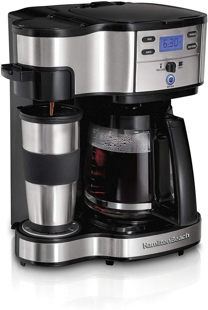 Hamilton Beach 2-Way Brewer Coffee Maker, Single-Serve
