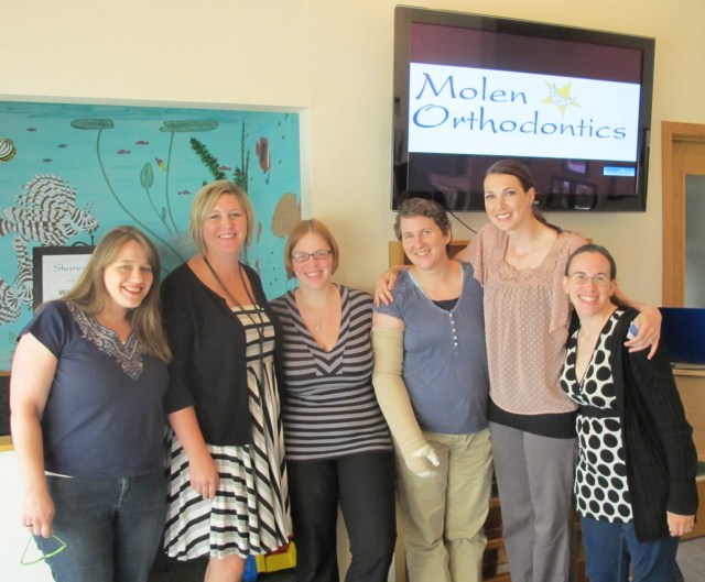 Molen Orthodontics Mommy Blogger Workshop