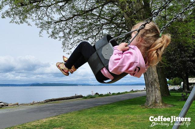 Gem on a swing - CoffeeJitters.Net