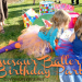 dinosaur ballerina birthday party