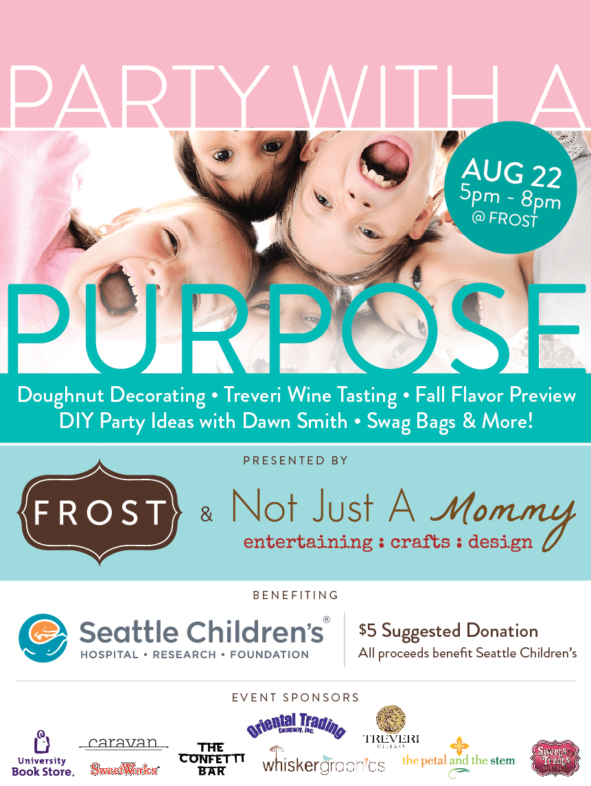 Party with a Purpose – benefiting pediatric cancer research