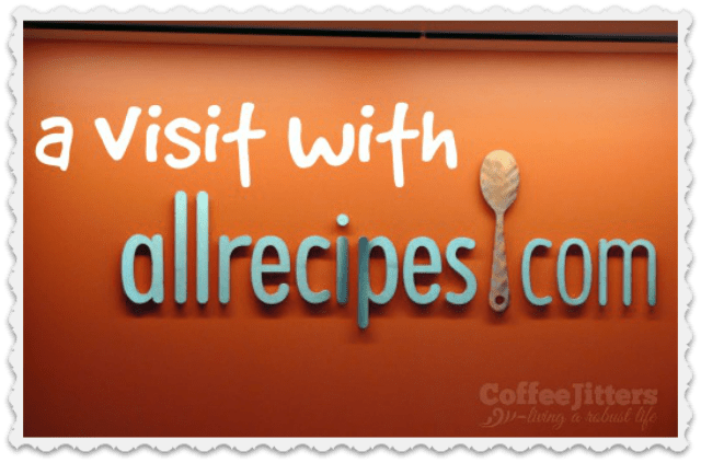 a visit with Allrecipes.com