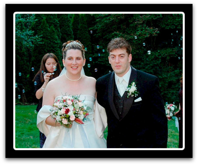 judy schwartz and aaron haley wedding 2004