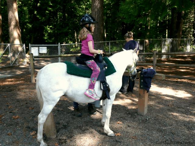 pony ride at Farrel-McWhirter Park