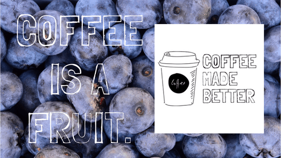 Coffee is a Fruit.
