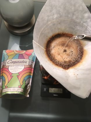Brewing on the Chemex