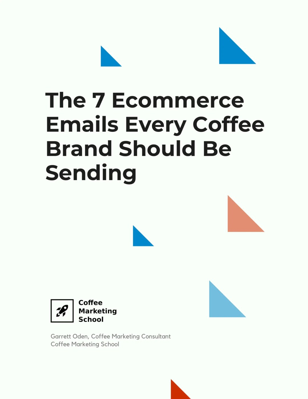 coffee ecommerce emails