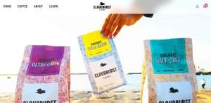 Cloudburst Coffee Website