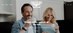 Gas Station Coffee Website