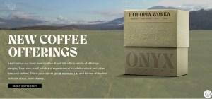 Onyx coffee Website