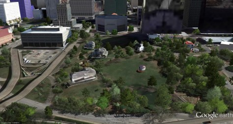 Google-Earth---Sam-Houston-Park---Houston,-Texas