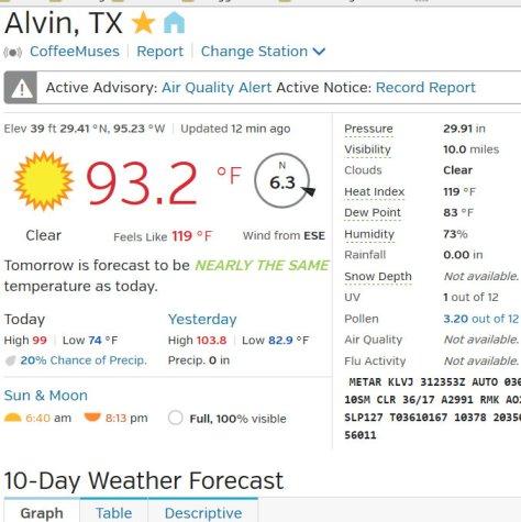 Alvin, Texas (77511) Conditions & Forecast  Weather Underground - Mozilla Firefox 073115 71426 PM