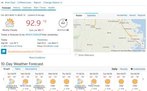 Alvin, TX (77511) Forecast Weather Underground - Mozilla Firefox 061916 102041 AM