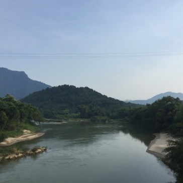The river that comes all the way from China