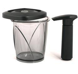 vacuum coffee bean container